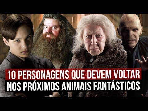 10 PERSONAGENS DE HARRY POTTER QUE DEVEM APARECER EM ANIMAIS FANTÁSTICOS