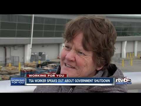 TSA workers speak out about government shutdown