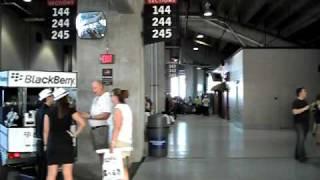 Walking on Raymond James Stadium, Tampa, FL at U2 360 Tour
