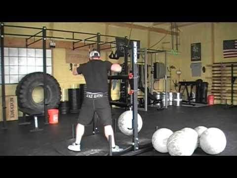 Strongman From Yesterday... 300lb Atlas Stone x 9, Log Pressing and Yoke Walks