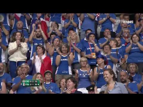 Marin Cilic vs Richard Gasquet FULL MATCH HD Davis Cup 2016 PART 1