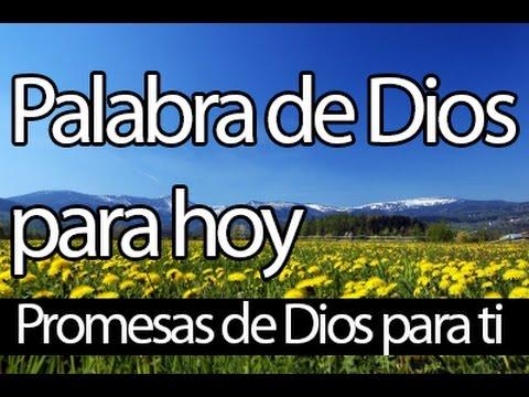 Palabra De Dios Para Hoy Promesas Biblicas Musica Para Orar