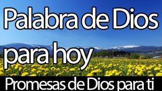 Palabra de Dios para hoy, Promesas biblicas + MUSICA PARA ORAR