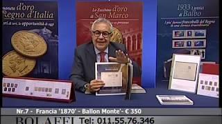 Bolaffi televendita - invito al collezionismo filatelico 01-08-2017