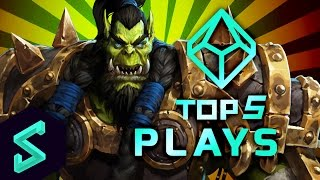 Top 5 Plays in Heroes of the Storm | Ep. 17 w/ MFPallytime | HotS Gameplay | TGN Squadron