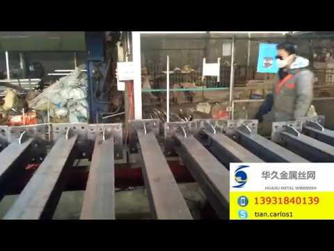Steel H Beam Type Post welding A Base Plate (3)