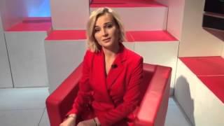 Полина Гагарина просит поддержать ее команду в проекте «Голос»