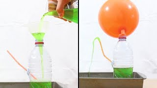 Learn To Make Non-Stop Water Fountain With Plastic Bottle And Balloon At Home | Science With Lab 360