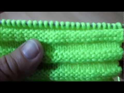 d i y tuto tricot apprendre a tricoter le point de godron. Black Bedroom Furniture Sets. Home Design Ideas