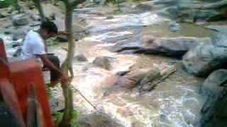 Secret (North East) India - Vasistha Muni Cave Temple near Guwahati - Beautiful stream flowing