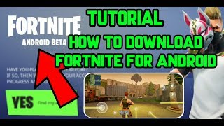 Fortnite on Android | How to Download Fortnite for Android | Fortnite Tutorial