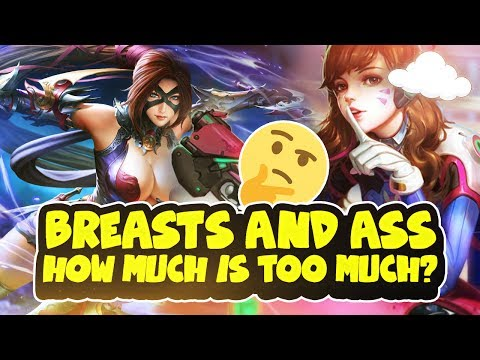 Breasts and Ass: How much is TOO much?