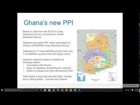 Ghana PPI 2012 Launch Indicator Training