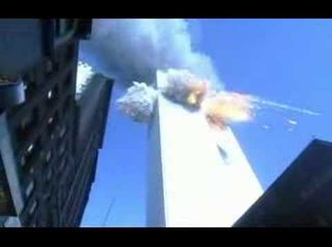 9/11 Second Impact (Flight 175) Fairbanks - YouTube