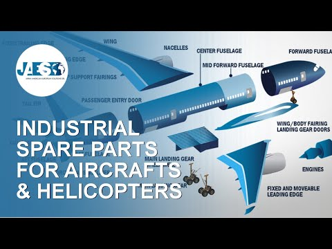 Spare Parts For Aircrafts / Helicopters - MRO And OEM - Components And Maintenance