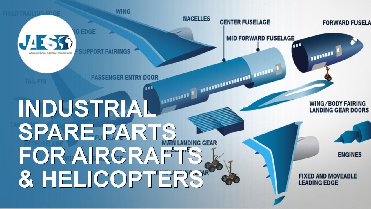 Industrial Spare Parts for Aircrafts / Helicopters - MRO and OEM -  Components and Maintenance