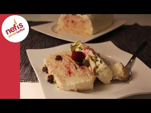 Bisküvi Pastası - Pratik Bisküvili Yaş Pasta Tarifi - Nefis Yemek Tarifleri