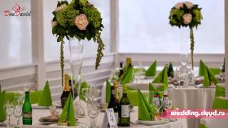 Креативная зеленая свадьба на природе в Москве