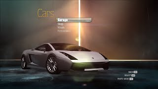 NFS Undercover Unfinished Cars - Lamborghini Gallardo Superleggera