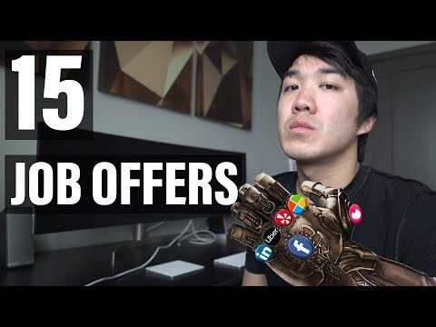 All My Job Offers In Tech