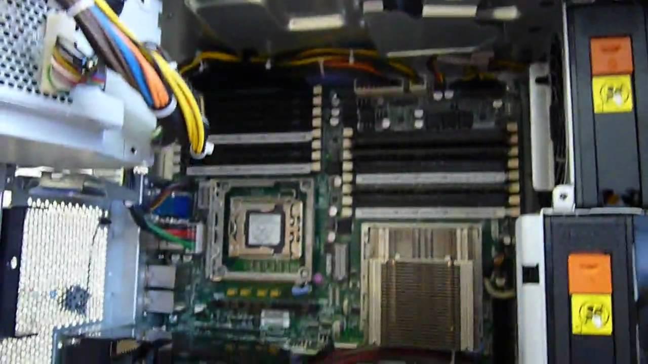 Ibm X3400 M2 Server Youtube