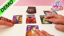 Wir spielen Wizard - Kathi, Kaan und Nina als Wahrsager Zauberer