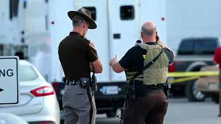 One dies, two are injured in violence at Moore food distribution center (2014-09-25)