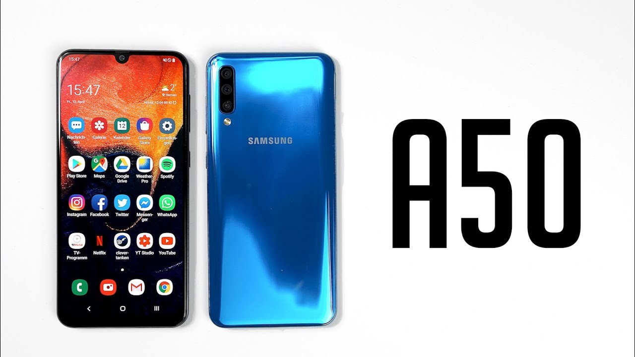 Review: Samsung Galaxy A50 (Deutsch) | SwagTab - YouTube