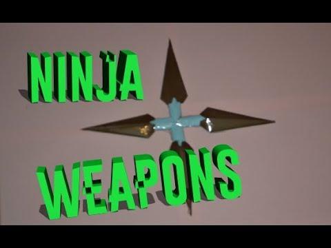 How to make a paper kunai | Naruto Ninja Weapons