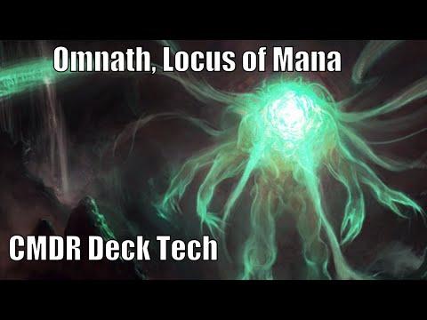 Matts Omnath Locus Of Mana Cmdr Deck Edh Commander Magic The