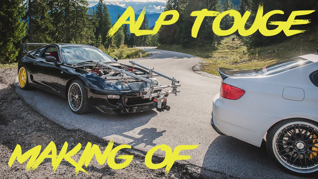 Making Of: Dotz Touge Drift In The Austrian Alps