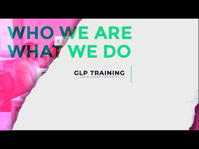 GLP Training #2020 Join us now!