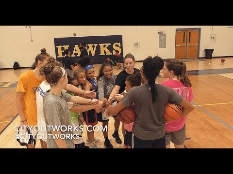 City Outworks Group Basketball Training at The Highland School