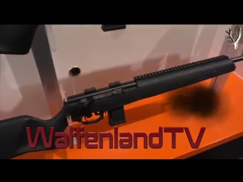 IWA 2016- New Steyr Mannlicher Scout Survival
