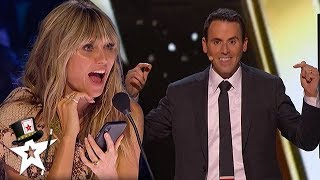 Mentalist Predicts Judge's Numbers on AGT Champions 2020 | Magicians Got Talent