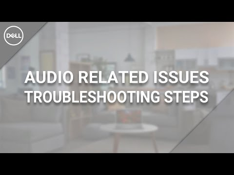 How to Troubleshoot Audio on Dell PC (Official Dell Tech Support)