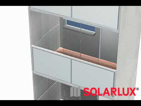 balkonverglasung von solarlux youtube. Black Bedroom Furniture Sets. Home Design Ideas