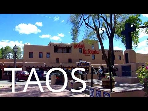 A Tour of Downtown Taos, New Mexico