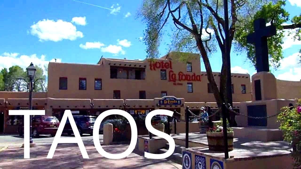 A Tour of Downtown Taos, New Mexico - YouTube