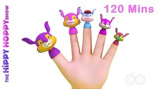 Finger Family Song I 3D Nursery Rhymes for Kids and Children I 120 Mins Baby Songs