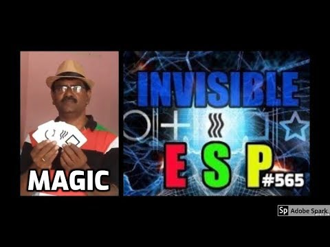 MAGIC TRICKS VIDEOS IN TAMIL #565 I INVISIBLE ESP @Magic Vijay