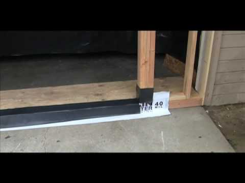 French Door Install 1 Of 2by Tls Laboratories Youtube