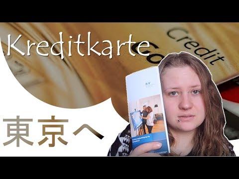 東京へ 🗾 2 Kreditkarte Beantragen