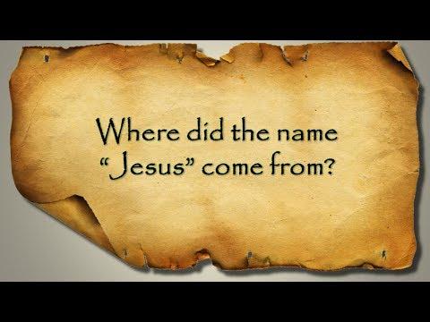 Where Did The Name
