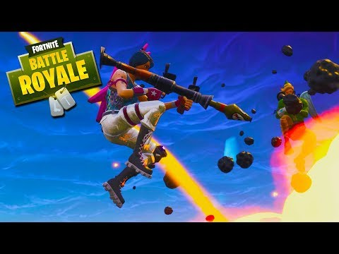 ROCKET RIDE DISTRACTION! - Fortnite Battle Royale with The Crew!