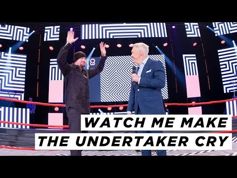 Nudge - RARE Undertaker Interview as Marc Talking About God