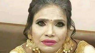 Ranu Mandal Make Over/ Ranu Mandal face makeup video 2019/ Renu Mandal extra face makeup video 2019