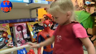 ✔ Кукла Штеффи и девочка Ярослава! Прогулка в Детский Магазин Игрушек. Steffi & Evi Love (SIMBA) ✔