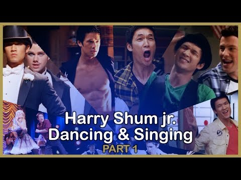 Harry Shum Jr Dancing & Singing in Glee  PART 1