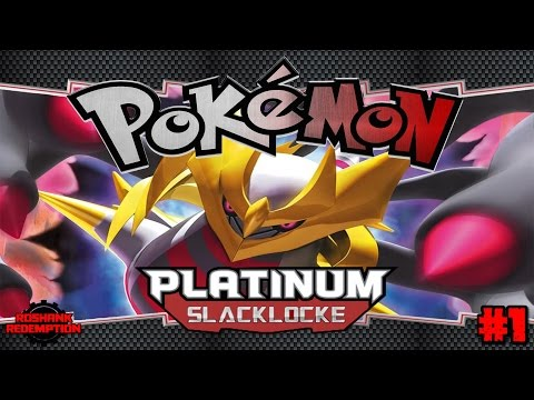 Pokemon Platinum Slacklocke - Episode 1: The Most Difficult Challenge Yet?!